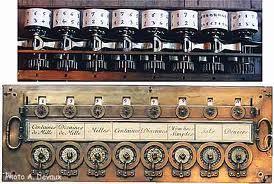 Pascal Adding Machine