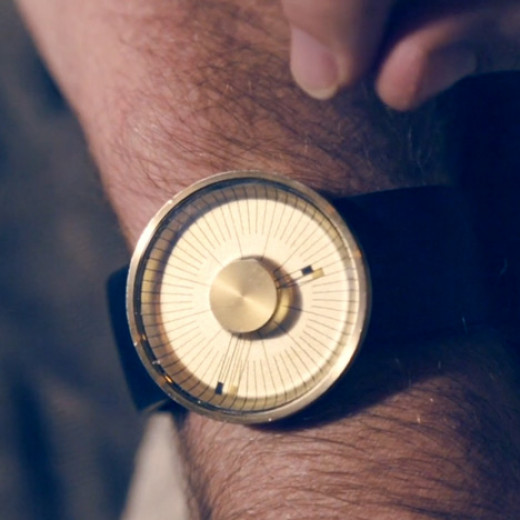The ODM Michael Young Hacker watch takes its design influence from 50's automobiles and planes.