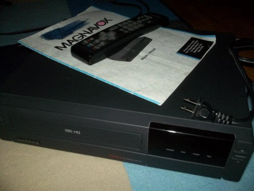 A classic VCR from 1993.