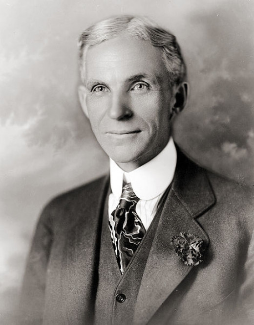 Henry Ford, father of Mass Production, had no formal education.