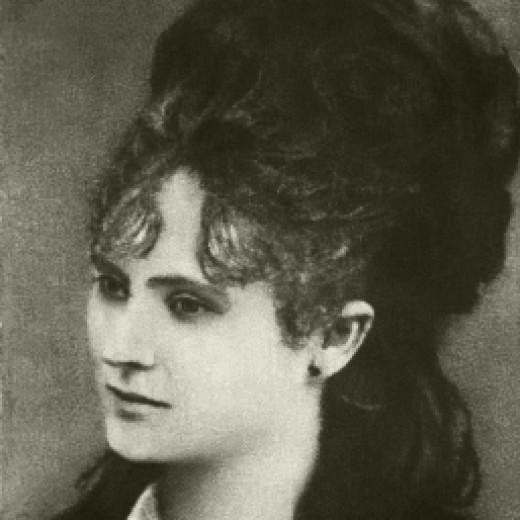 Poet Veronica Micle, lover to Mihai Emaniscu
