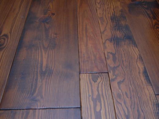 "Zeagler Farms ""Tavern Style"" random width wide plank flooring"