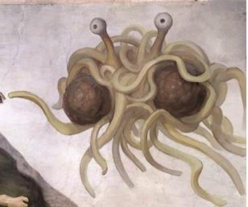 The Flying Spaghetti Monster (FSM)