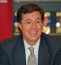 Stephen Colbert is not affiliated with the Flying Spaghetti Monster.