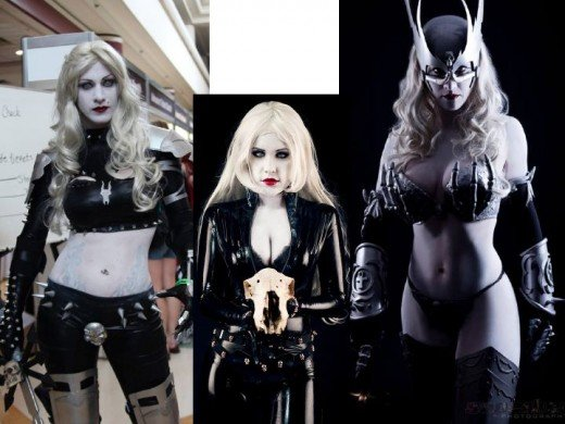 Alternate Lady Death Cosplay Costumes