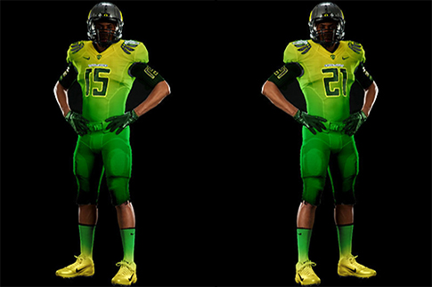 The Oregon Ducks are this feature's first runner-up.