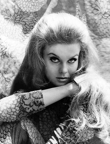 "Ann Margret, Elvis' co-star in ""Viva Las Vegas"""