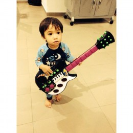 Taidan the Rock star.