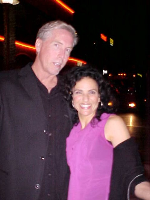 "Head's up. Tall guy in the room! The author with comedienne Jann Karam (Seinfeld) outside of The Tempe Improv . She's about 5'1"". The Vanilla Godzilla is about 6'5 1/2"""