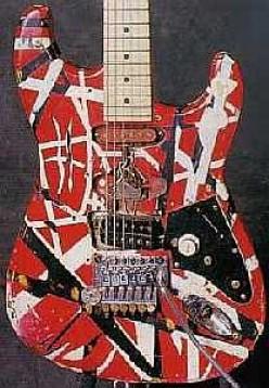 Eddie Van Halen's Frankenstrein Strat