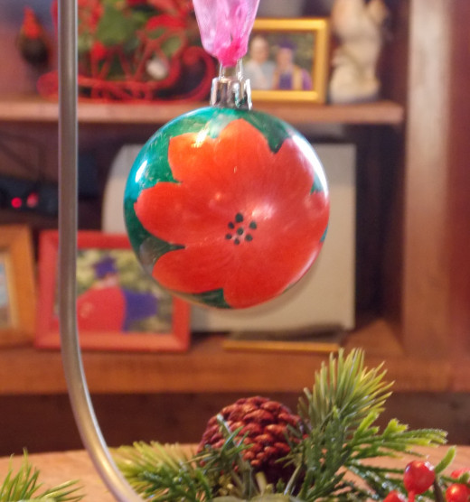 A Dollar store craft: Christmas Ornament