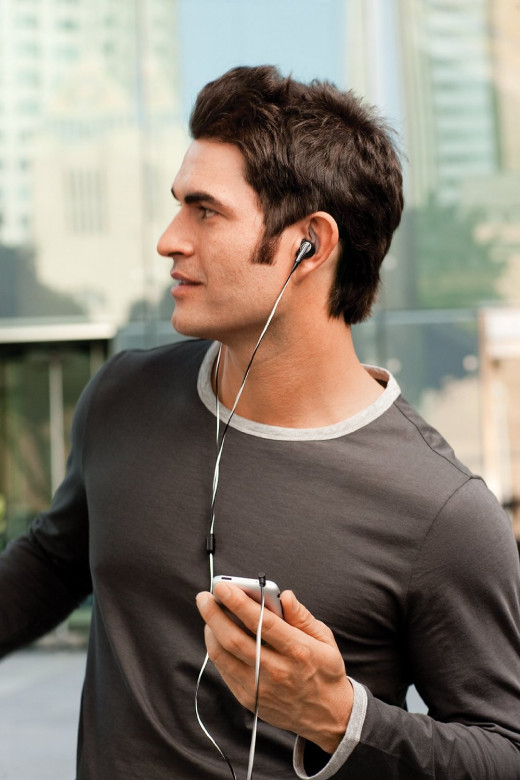 These Bose IE2 Audio Headphones are a great option for those who like to work out and have headphones that will stay in their ear and out of their way.