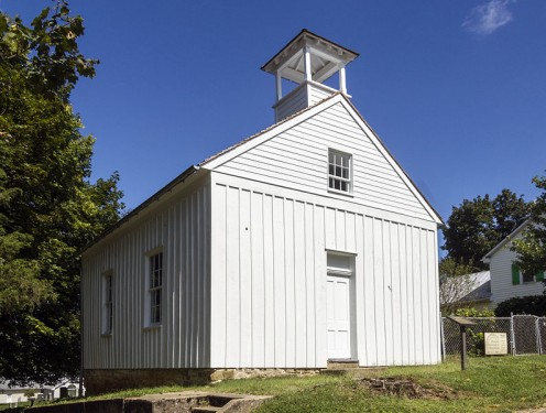 Tolson's Chapel — a historic African American church in Sharpsburg, western Maryland.  It was built in 1866 and served as a church and a Freedman's Bureau school for black residents after the American Civil War.