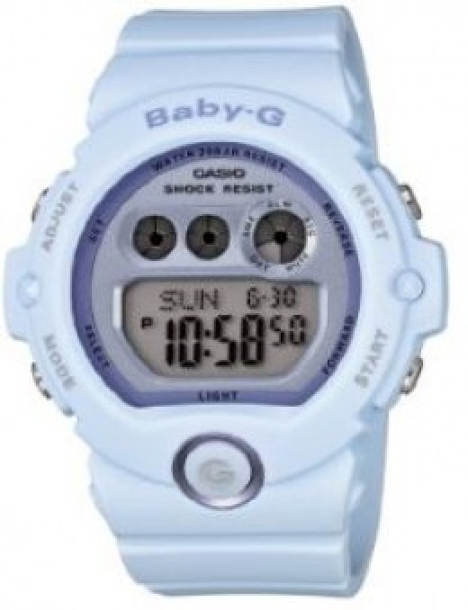 Casio Women's BG6902-2 Baby G White Watch