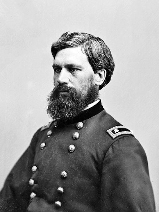 General Oliver O. Howard Between 1855 and 1865