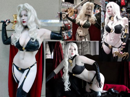 Classic Lady Death Cosplay Costume