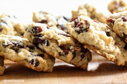 Leftover Dressing and Cranberry Cookies