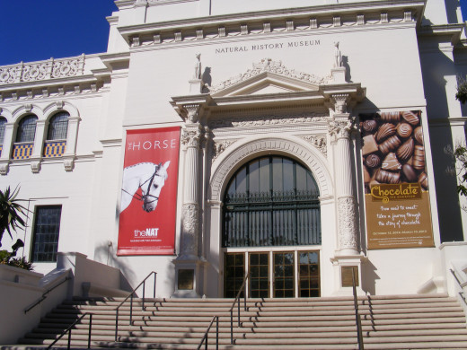 Natural History Museum at San Diego, California.