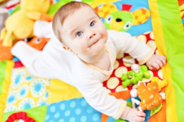 An active nursery can become an active kids room  very easily and affordably!