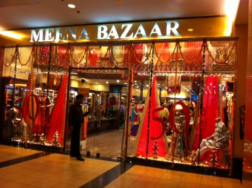 Window Shopping at Luxurious Shopping Malls