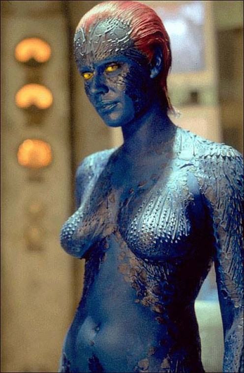 Mystique - Image of a woman shape shifter