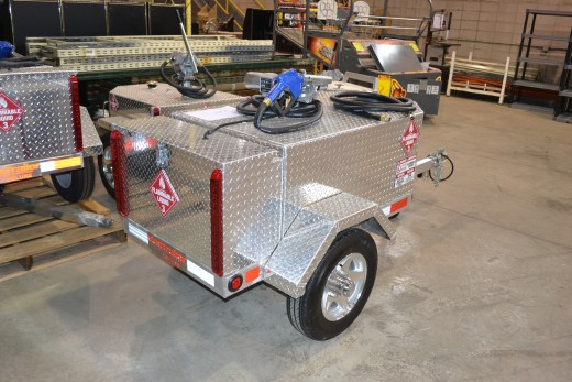 Another fuel trailer selection.