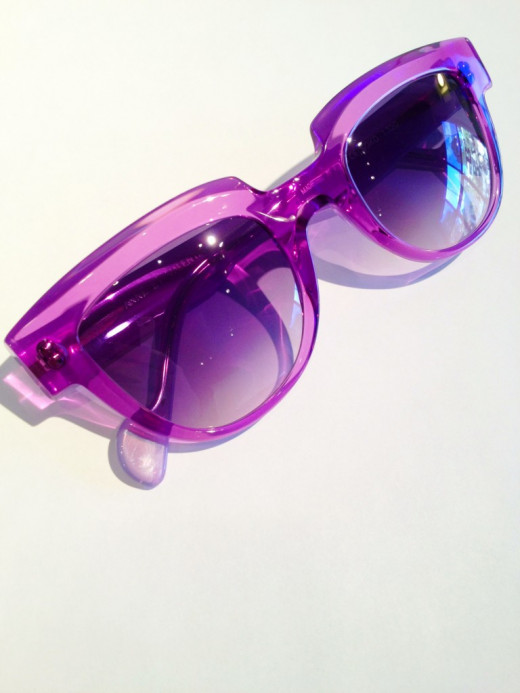 Fun, flirty shades in Radiant Orchid