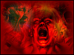 Red is viscerality & definiteness. It's NEGATIVE as well as POSITIVE feelngs & emotions. It's ANGER, HATE, & RAGE.  It is GUT reaction & response, even MADDENING. It's NEVER apathetic-that would be the ANTITHESIS of red.