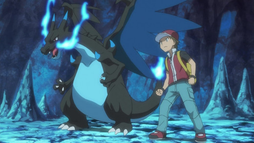 The Pokemon Origins anime revealed Mega Charizard X
