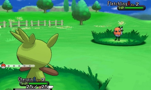 Graphics of Pokemon X and Y
