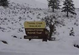 Thomas Creek Campground
