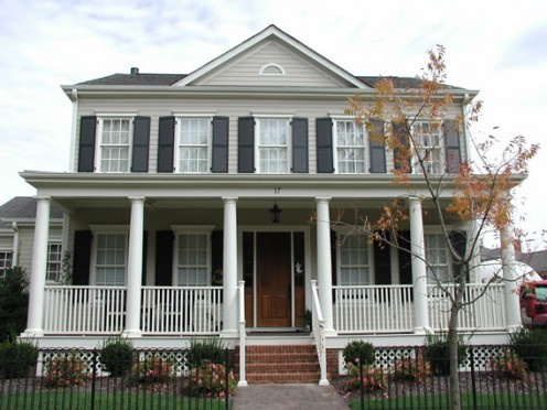 Exterior Craftsman Shutters - Selecting Your Window Shutter Style