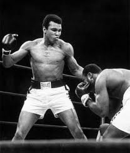 Muhammad Ali fought Joe Frazier three times winning twice.