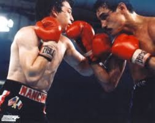 "Alexis Arguello, right, knocked out Ray ""Boom, Boom"" Mancini in his prime."