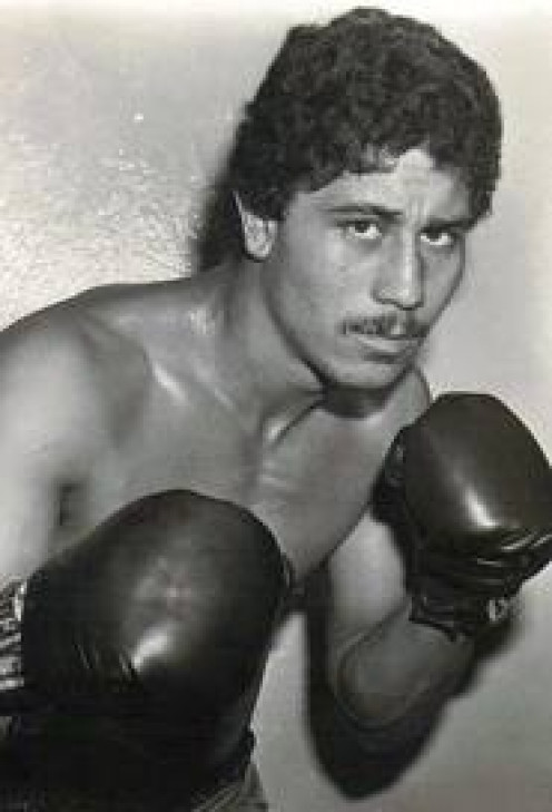 "Wilfredo ""Bazooka"" Gomez was a big puncher who retired with a record of 44-3-1 with 42 knockouts."