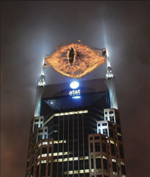 Sauron, you've got to go before the Mordor vision-plan insurance rates go through the roof. Apparently nobody wanted finance the construction of another tower to hold the gigantic monocle.