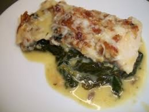 Chicken Florentine can be prepared in many different ways.