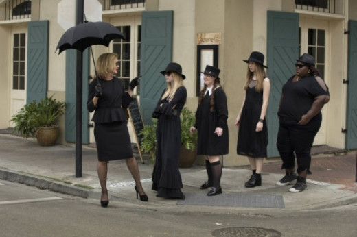 American Horror Story:Coven - Group shot