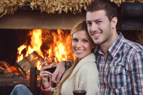 Stay in this New Year's Eve and cozy up by the fire!