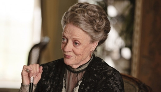 Lady Violet Crawley and Dowager Countess (Dame Maggie Smith)
