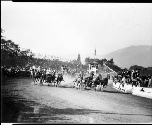 1911 chariot race