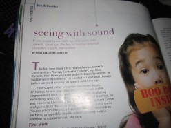 Seeing with Sound: Helping Children With Speech Difficulties