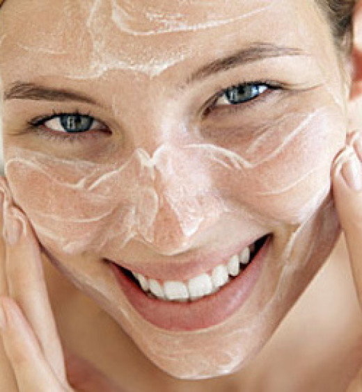 Exfoliate, one of the best way to clear the dead cells trapped under the skin