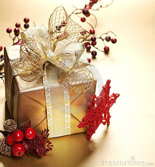 Brightly wrapped gifts are a gift in themselves.