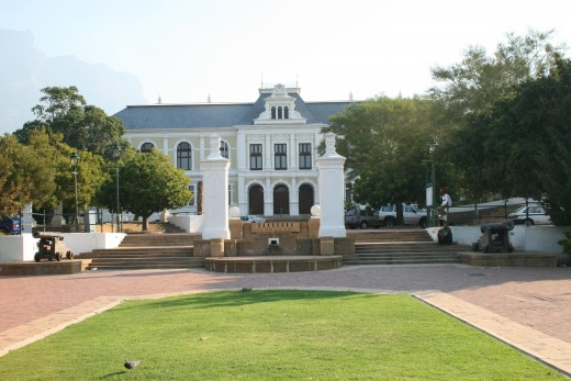 The South African Museum, which was founded in 1825 and houses some of the greatest examples of San rock art and many other interesting exhibits