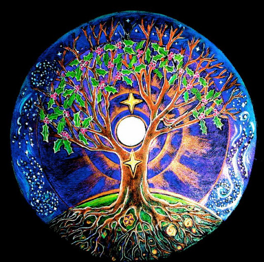 Tree of Life, Winter Solstice, Full Moon