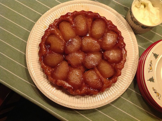 Tarte Tatin can be made with Pears, Apples, Quinces , Cherries and a ...