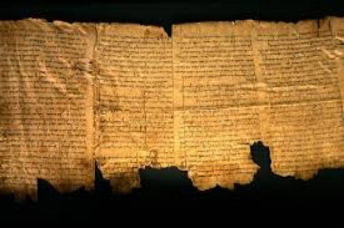 Many of the scrolls were found in fragments or damaged in some form. They have been carefully preserved since being found.