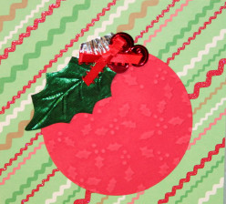 How to Design a Christmas Card using Tree Ornaments as Inspiration