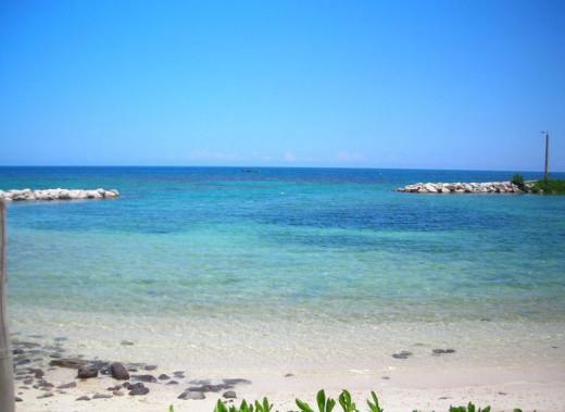 Tropical White Sand Beach - Montego Bay, Jamaica